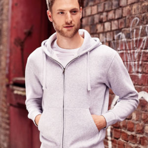 Russell Mens Authentic Zipped Hood