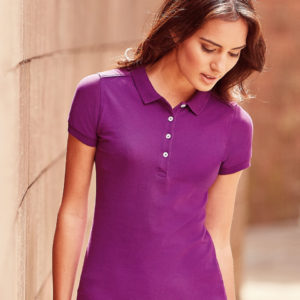 Russell Ladies Stretch Polo