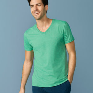 Men's Soft Style V-Neck T-Shirt