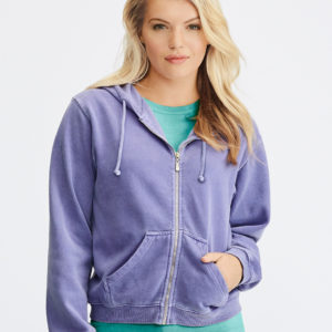 Comfort Colors Ladies Full Zip Hoodie