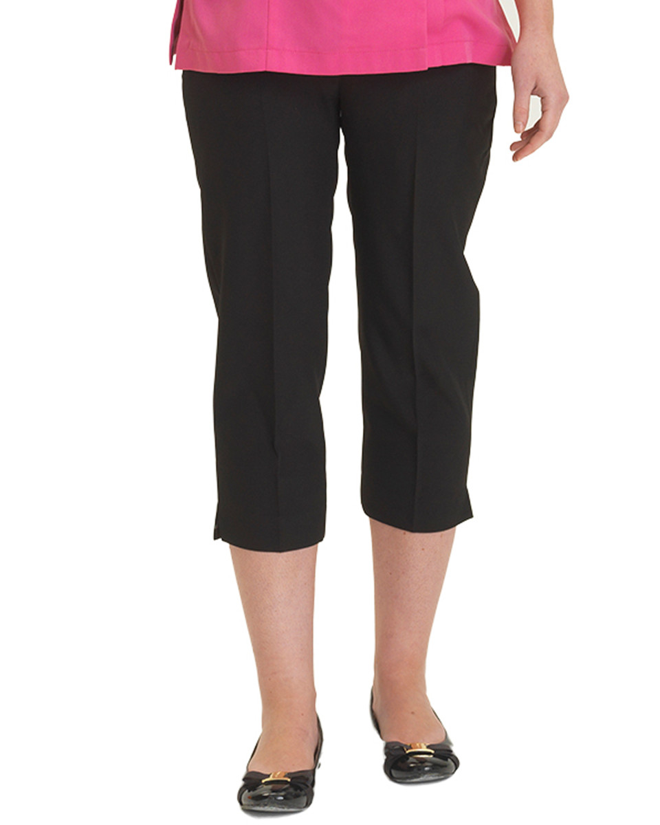 Dennys Ladies Cropped Spa Trousers