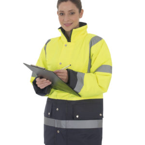 Hi-Vis 2 Band Two Tone Jacket