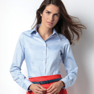 Ladies' Corporate Long Sleeve Oxford Shirt