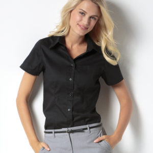 Ladies' Short Sleeve Corporate Pocket Oxford Shirt