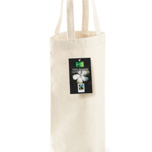 Westford Mill Cotton Bottle Bag