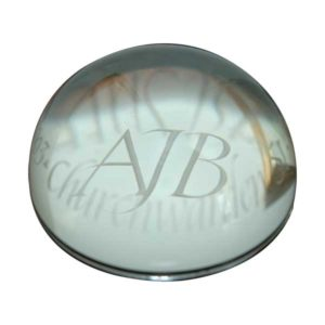 F149 60mm Glass Paperweight