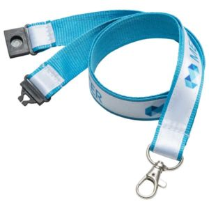 F074 20mm Printed Satin Appliqu? Lanyard