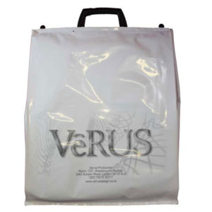 F096 Plastic Carrier Bag with Clip Close Handles