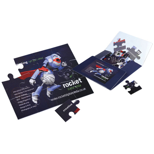 F140 12 Piece Jigsaw with Bespoke Mailer Carton