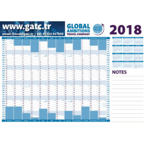 F063 A3 Wall Planner