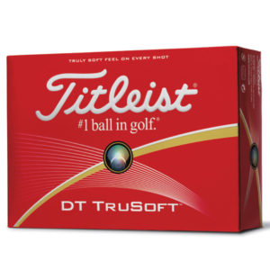 F143 Titleist DT Tru Soft Golf Ball