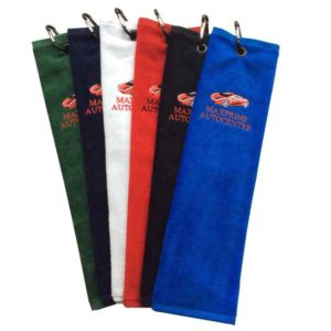 F144 Event Trifold Golf Towel