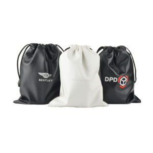 F144 Drawstring Bag - Debossed