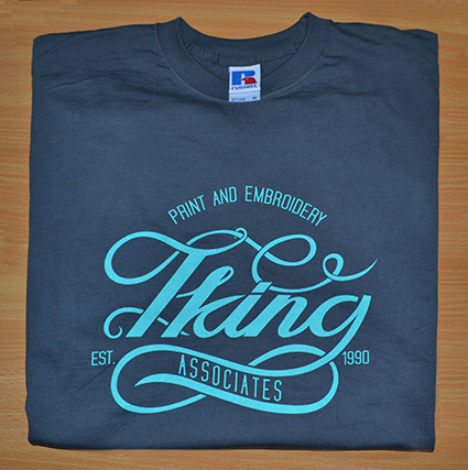 a6f9e099 Screen Printing Process on Clothing and Workwear - T King Associates