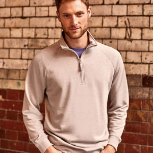 Russell Mens HD Quarter Zip Sweat