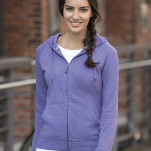 Russell Ladies HD Zipped Hooded Sweat