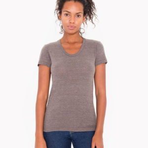 American Apparel Womens Triblend Tee