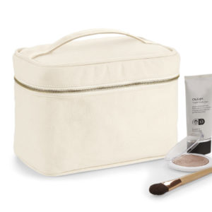 Westford Mill Canvas Vanity Case