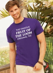 Fruit Of The Loom custom printed t-shirts