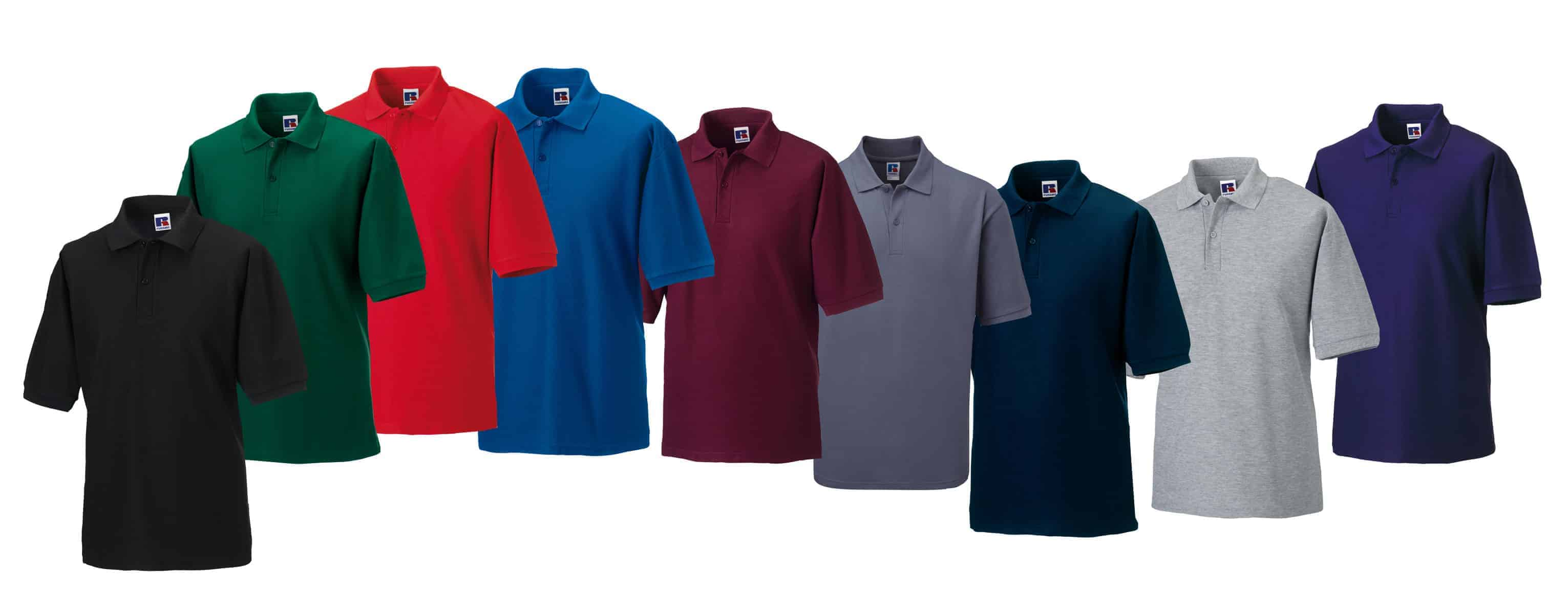 0f07cee2 Selection of polo shirt suitable for printing or embroidery