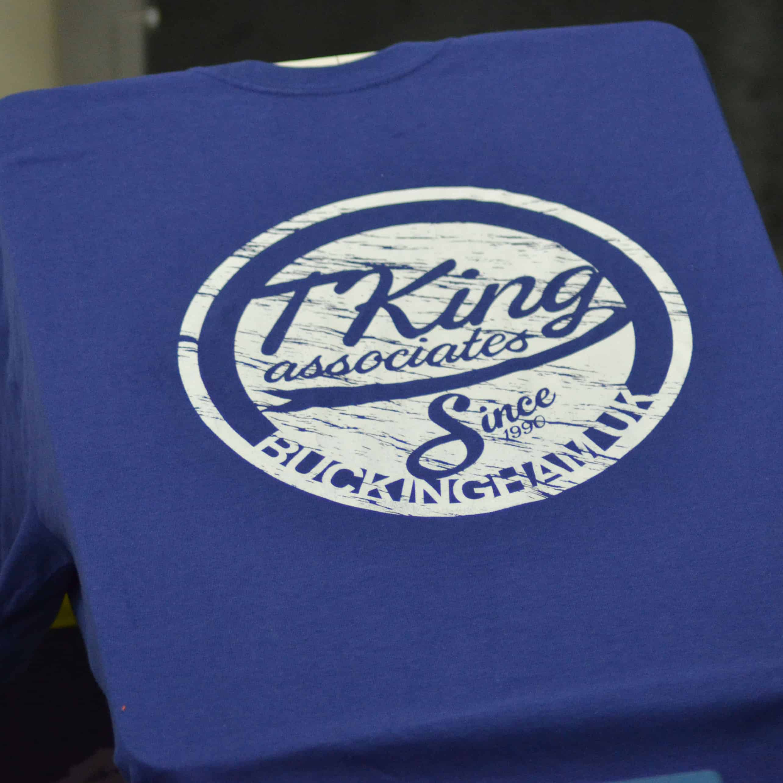 Printed t-shirts in Milton Keynes | Screen printing or