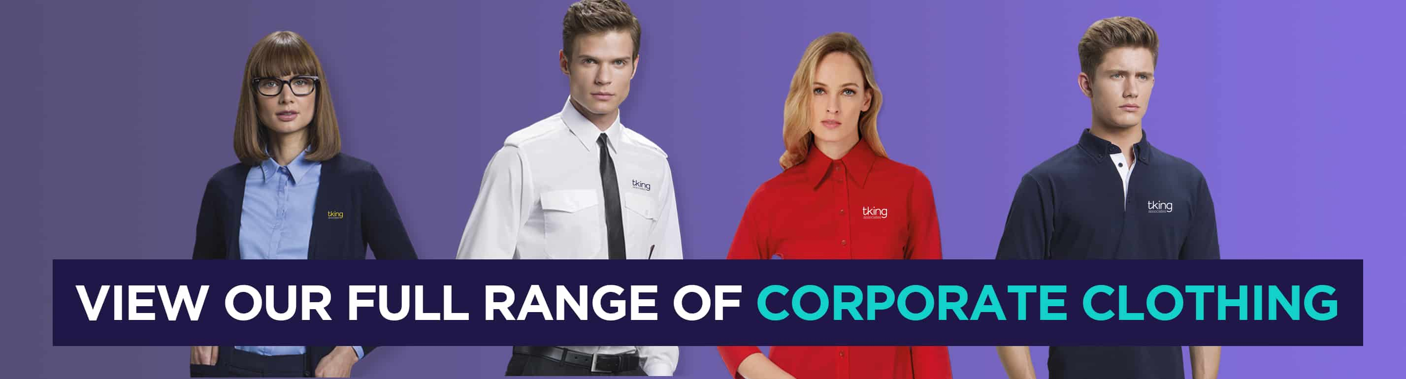T King Associates Printed and Embroidered Corporate Clothing