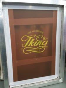 Screen Printed Work from T King Associates