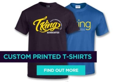 Custom Printed and Embroidered T Shirts Milton Keynes and Buckingham