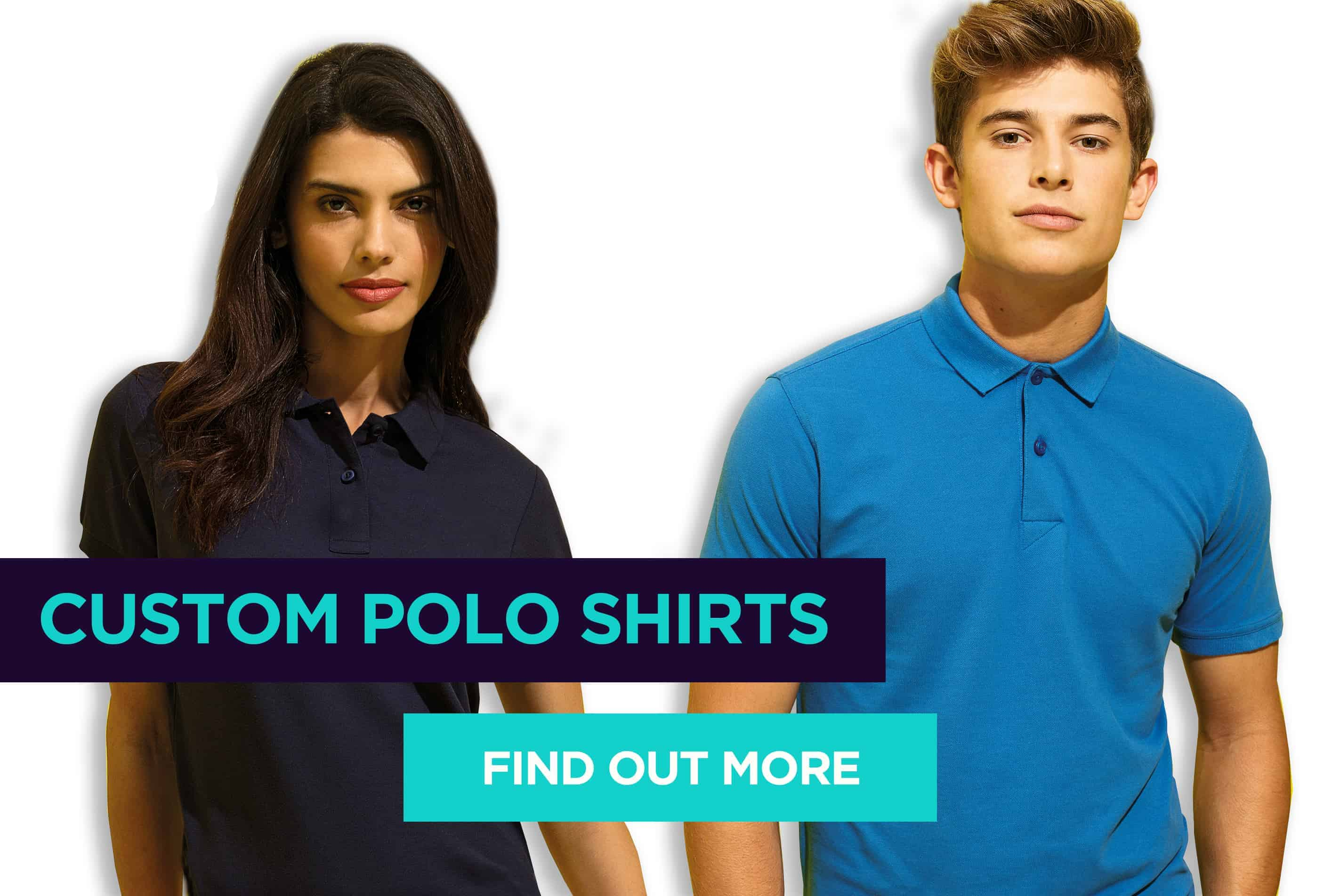 Custom Printed and Embroidered Polo Shirts in Milton Keynes and Buckingham