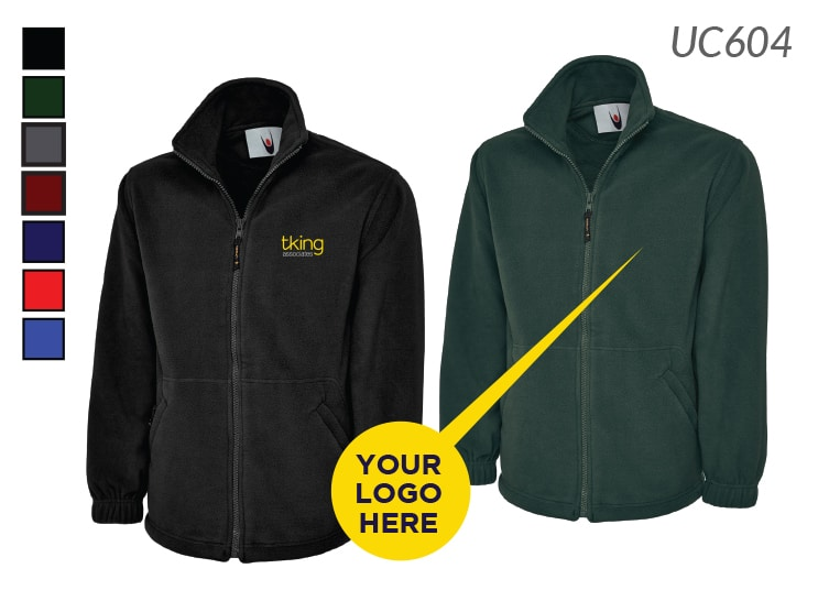 Personalised Fleeces with Embroidered Logo