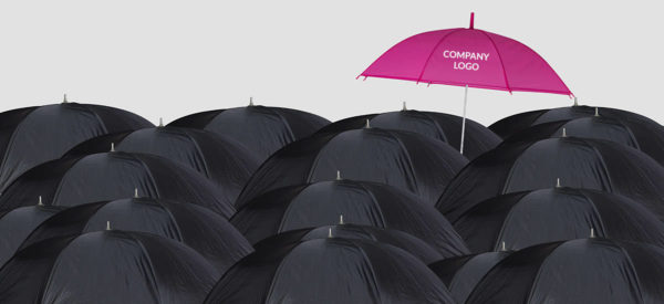 Company Branded Umbrella