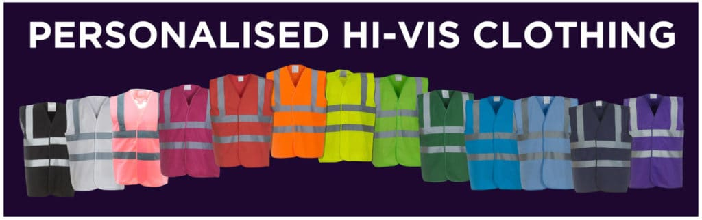 Hi Vis Vests With Personalisation
