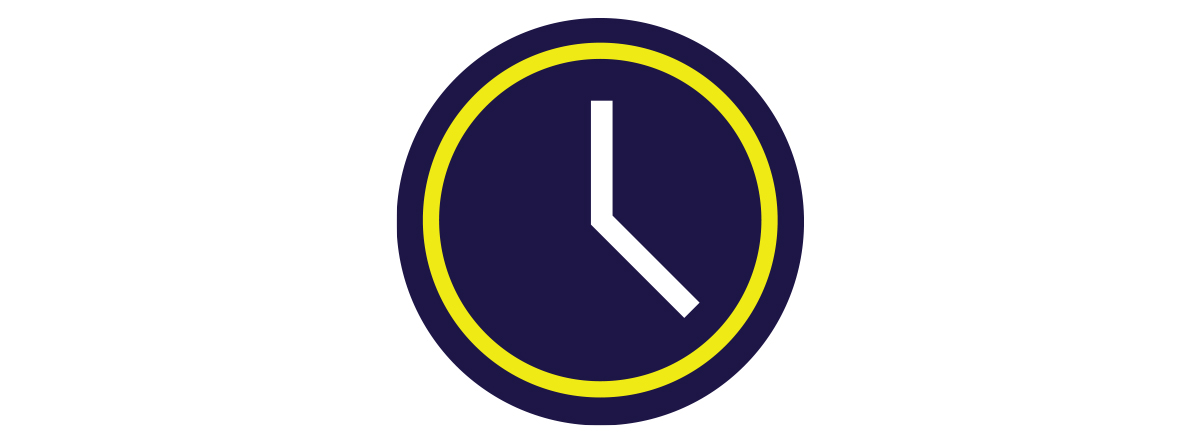 Clock Icon - Order at any time