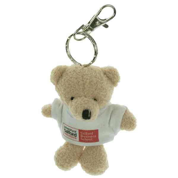 10cm Toby Key Ring Bear