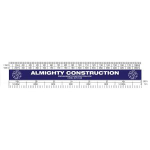 150mm Architect Scale Rule